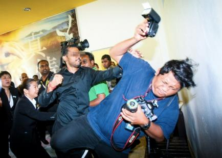 Photojournalist beaten up